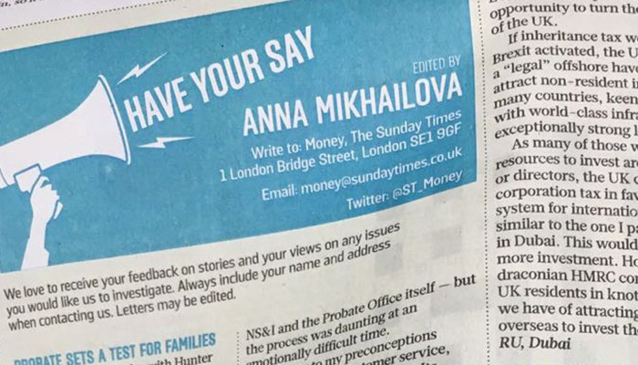 'Probate Seems the Hardest Word', As Featured in The Sunday Times…